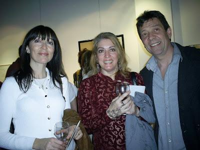 Guillermo Aleu con amigas