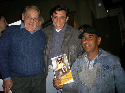 Fermin Viñas junto a Luis Lopez