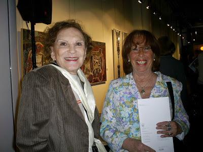 Paulina Migdal de Jortack y amiga