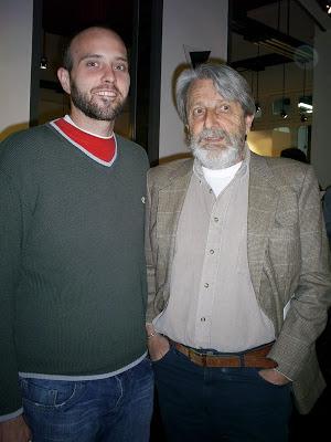 Alvaro Gatti junto a Cesar Benzi