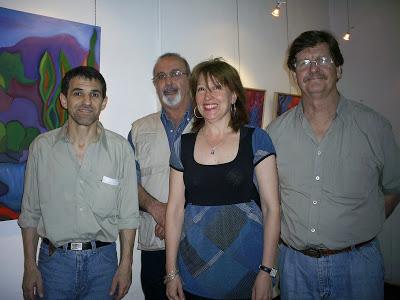 Elizabeth Yappert Con Hugo Lafranconi, Hector Welschen, Luis Gervasoni