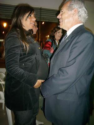 Mario Barletta y esposa