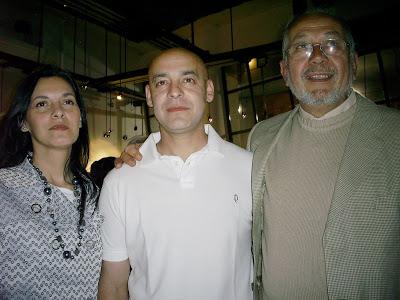 Andres Dorigo junto a Eduardo Gomez