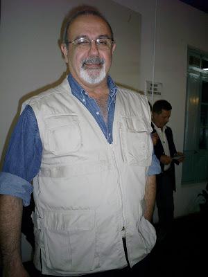 Hugo Lafranconi posando