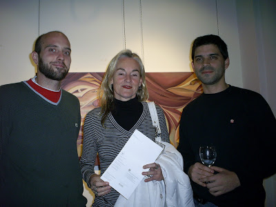Cesar Benzi, Paula Sobrero, Santiago Iriel