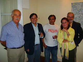 Cali Esquivel, Hugo Lazzarini, Santiago Iriel