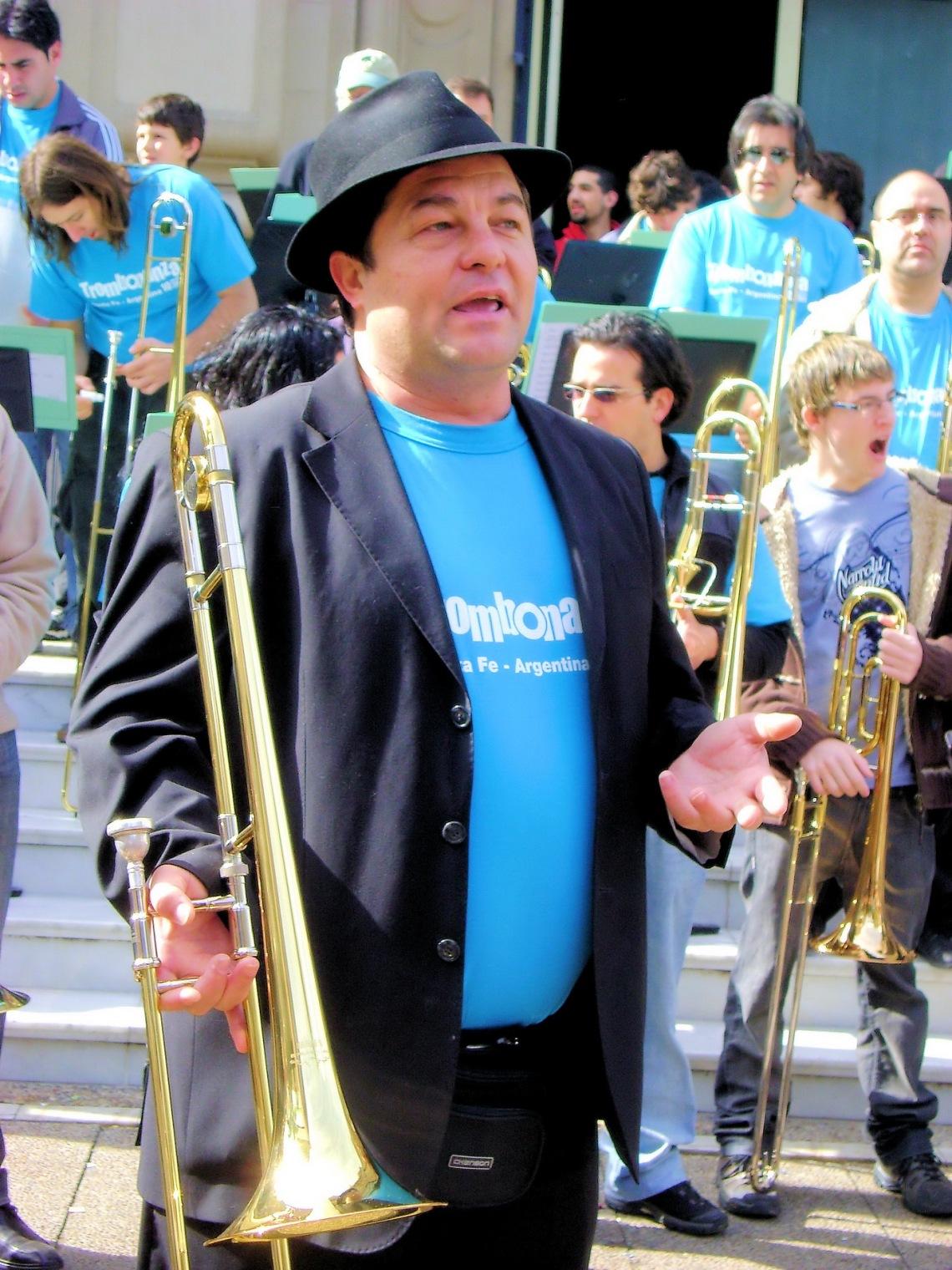 el alma mater de trombonanza, Ruben Carughi