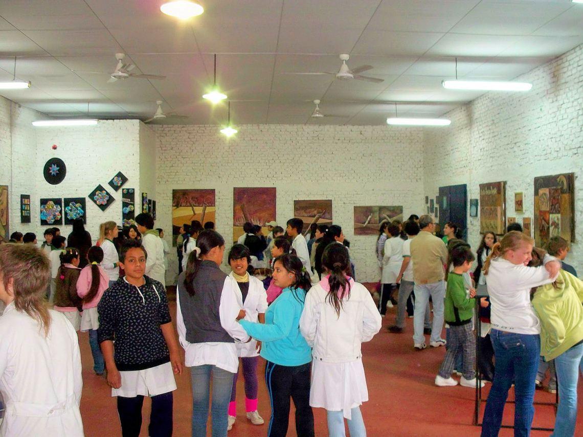 7° y 5° grado A y D, escuela Bernardino Rivadavia de Reconquista