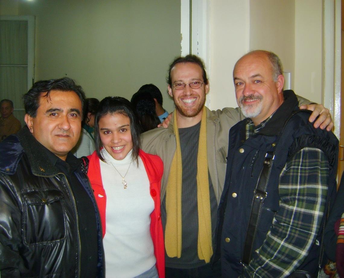 Luz de ciudad, Romina Otero, Lovino y Abel Monasterolo.