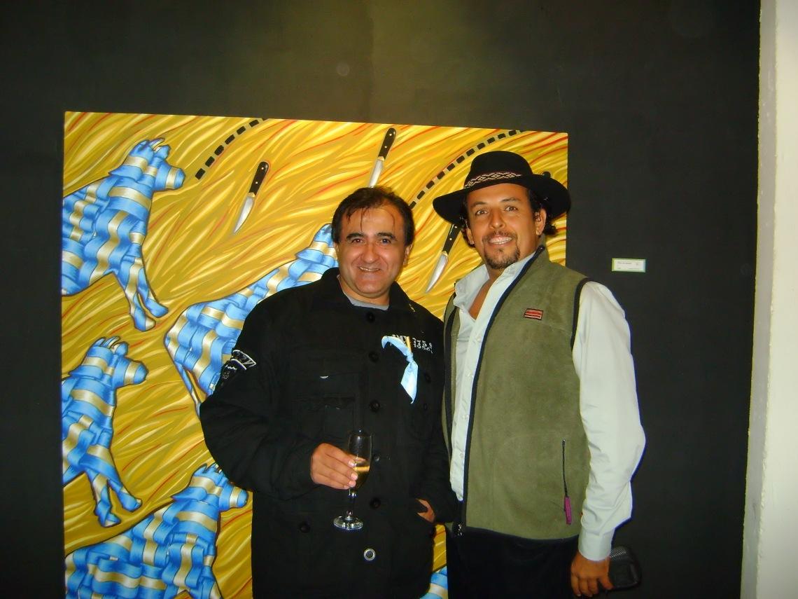 Luz de ciudad y Gabriel Villot son amigos de hace años.