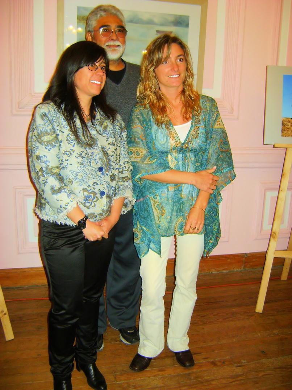 Elisa Martinez y Lucrecia Calvo.