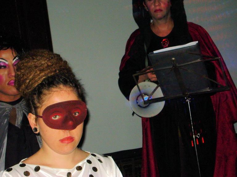 Actores en el evento.