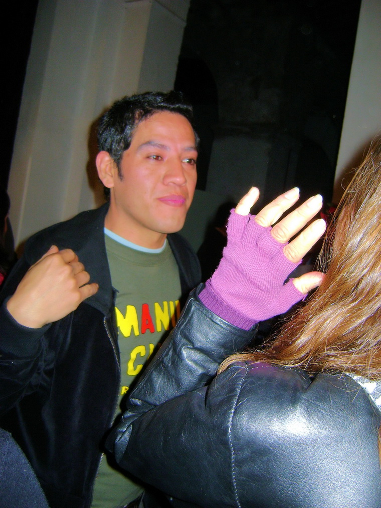Pablo Ríos, diaconisa en la obra