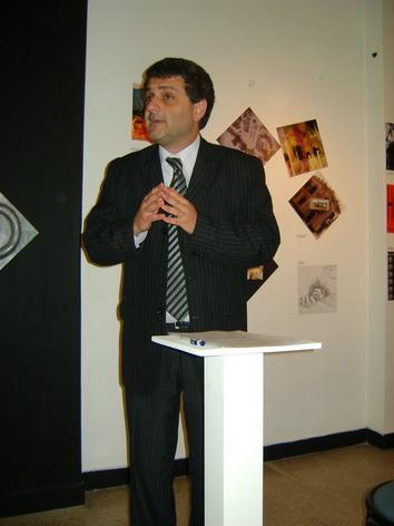 Luis Maria SAbrino, en el inicio del curso