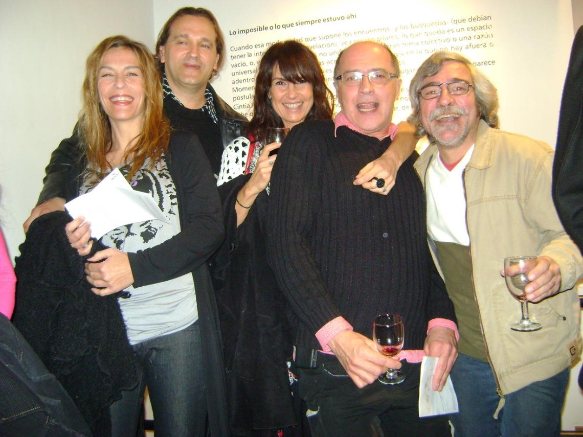 Lucero Villalba,Ana Paris,Pepe Volpogni,César Constanzo.