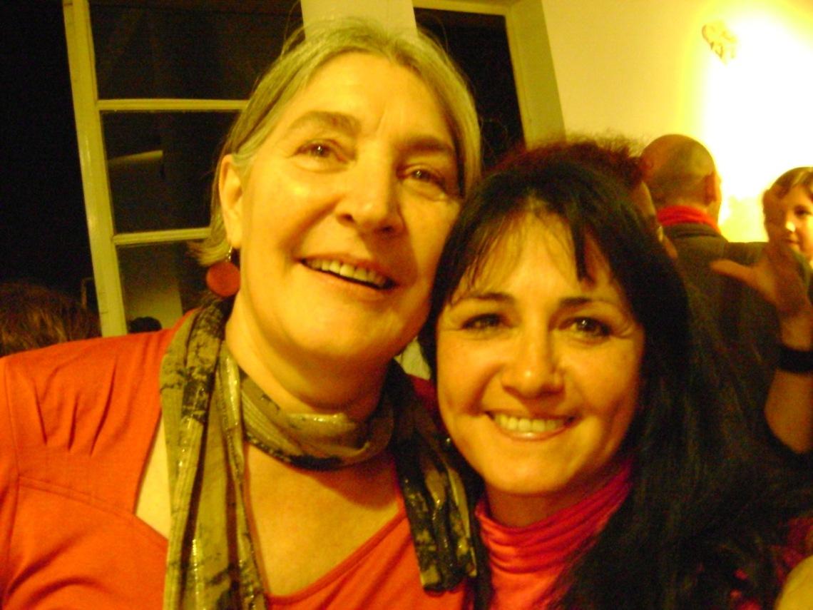 Raquel Minetti con Analia Sagardoy