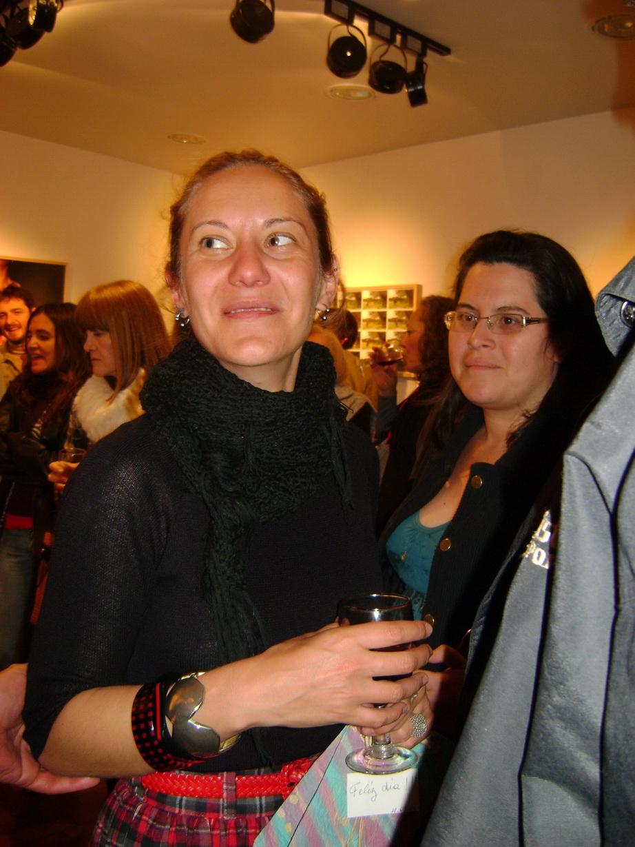 Cintia Romero, una noche plena de emociones.