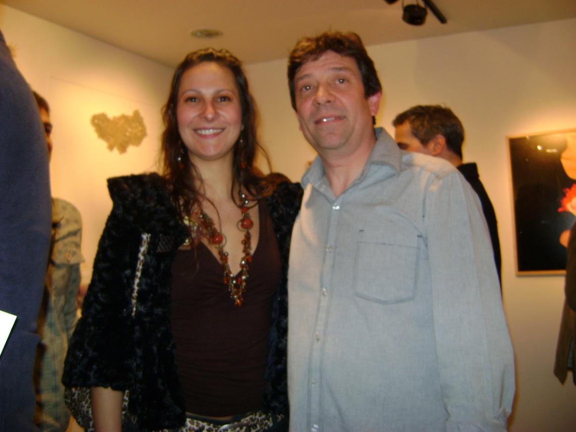 Lily Martinez con Guillermo Aleu