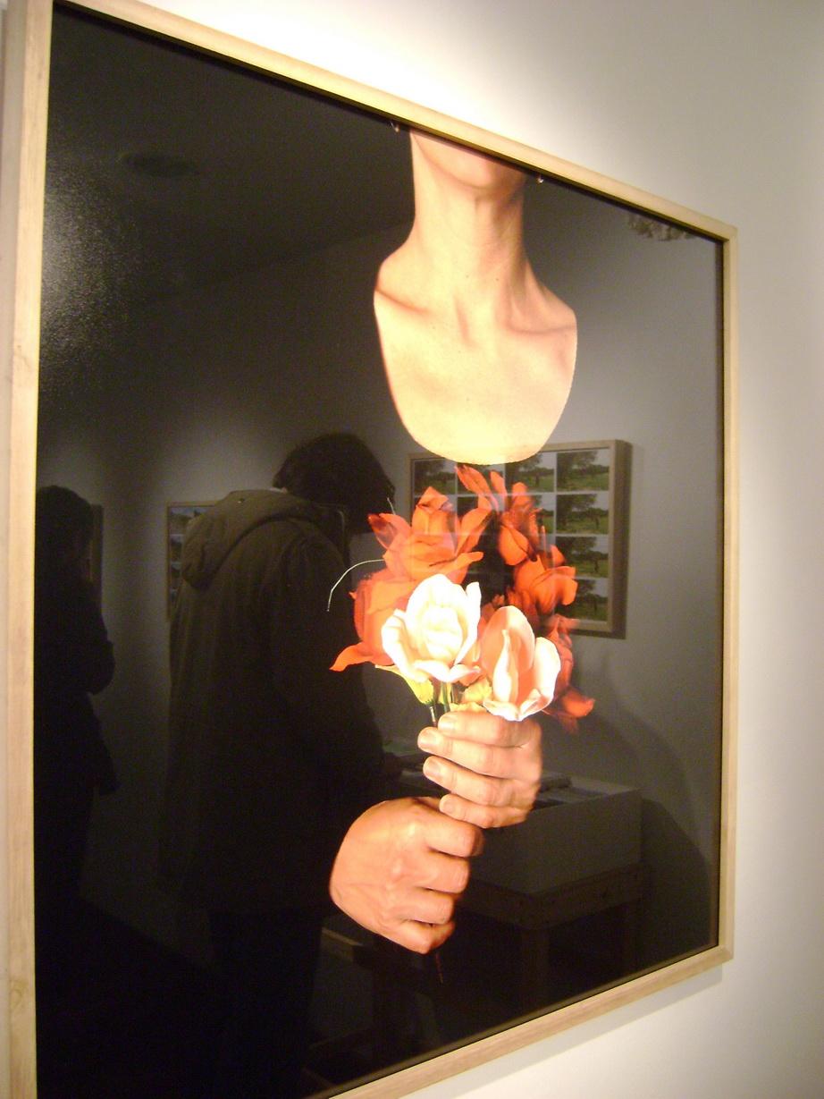 Una de las obras exhibidas