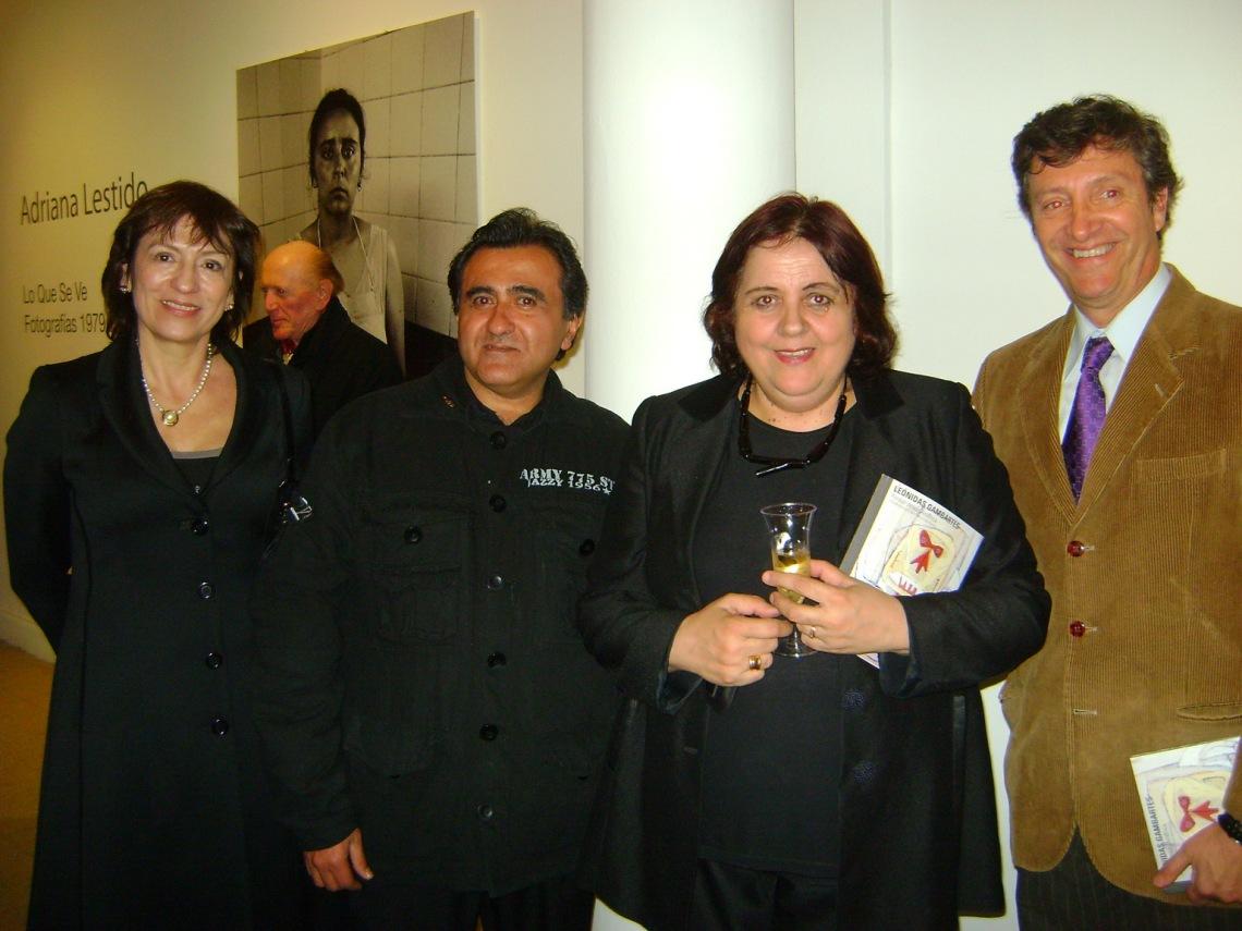 Betty Gambartes, luz de ciudad,Chiqui Gonzalez y Leonidas Gambartes.