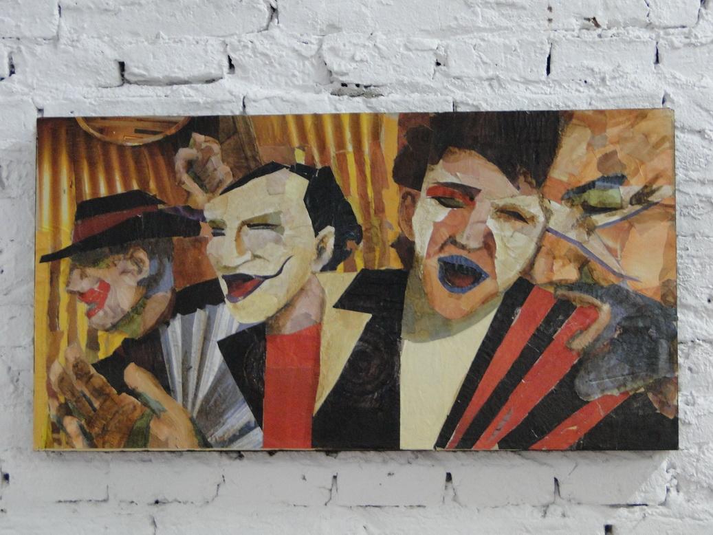 Una de las obras de Alejandro Briggiler