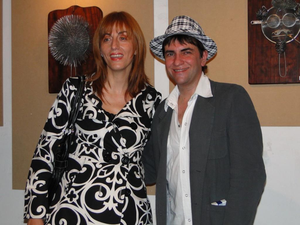 Isabel Molinas y Gabriel Cimaomo