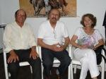 Daniel Schmidalther, Dino D Emilio y Esposa.