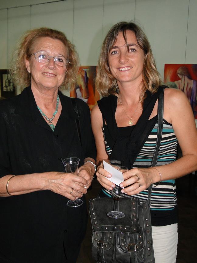 Marta y Lucrecia Calvo