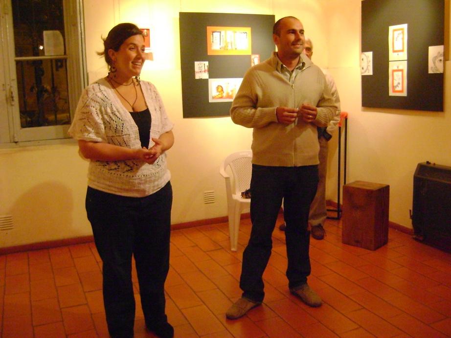 Valeria Cillario y Fernando Sanchez