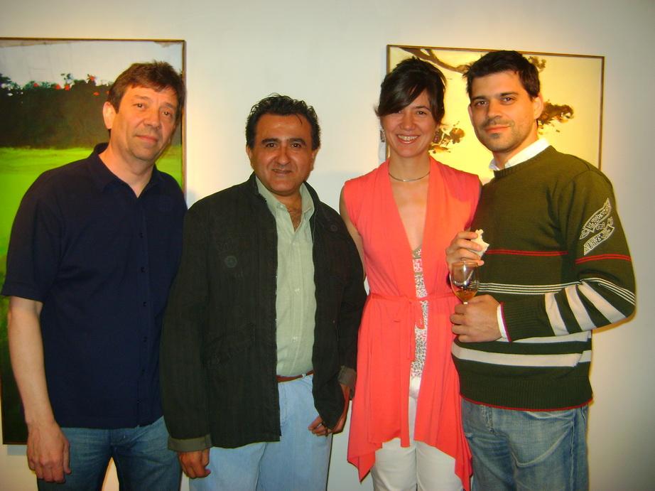 Guillermo Aleu, luz de ciudad,Ines Francia, Santiago Iriel.