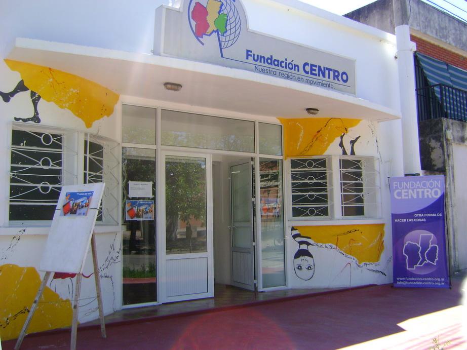 El frente de la Fundación Centro de Reconquista.