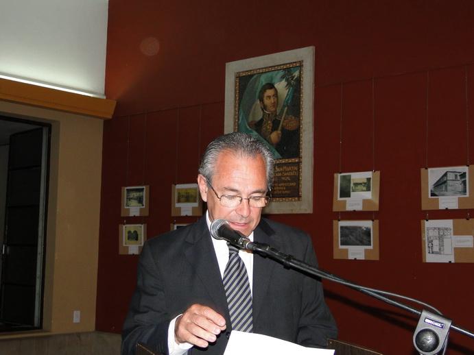 Palabras del Intendente municipal.