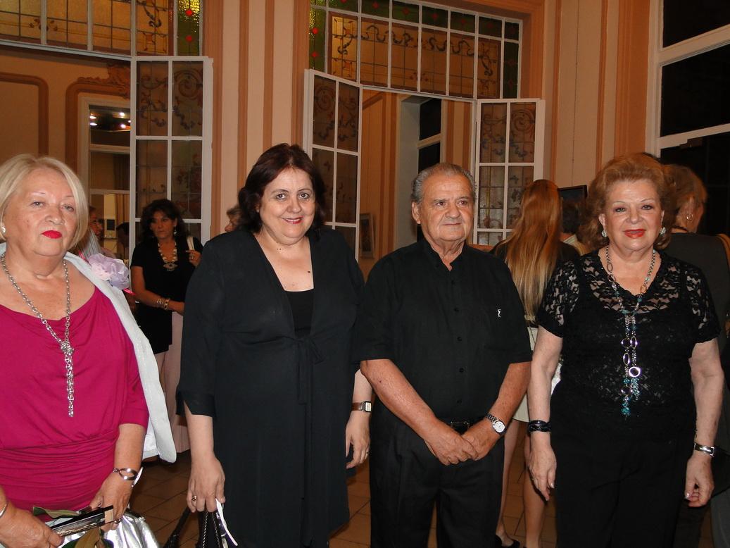 Katty de Massa,Chiqui González,Salvador Massa, Norma Guastavino