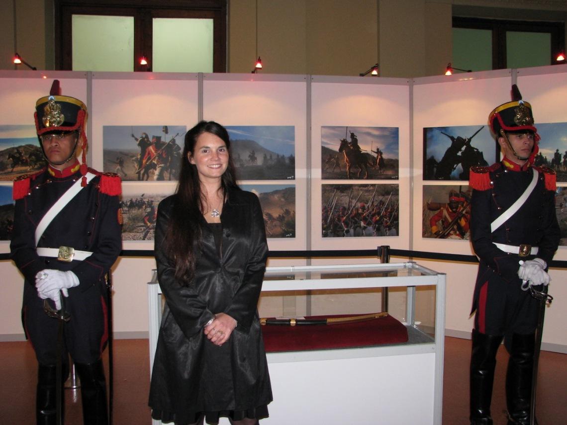 Secuencia de la presentacion en la Casa Rosada