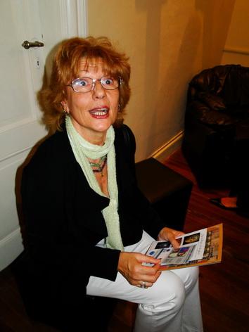 Suzy Tomas, la presentadora