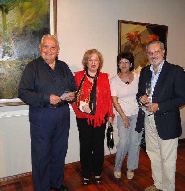 Dardo Sejas, Norma Guastavino, Ana Maria Paris, Hugo Lazzarini.
