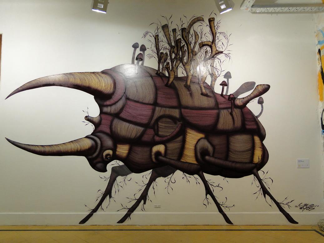 SINVERGÜENZA!! CCEBA-GRAFFITIS EN SAN TELMO « Blog Alternativo de ...