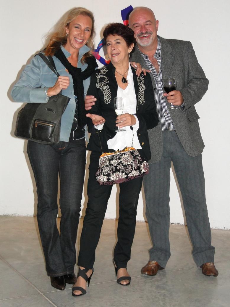 Lucila Fosco, Susana Ocampo, Abel Monasterolo