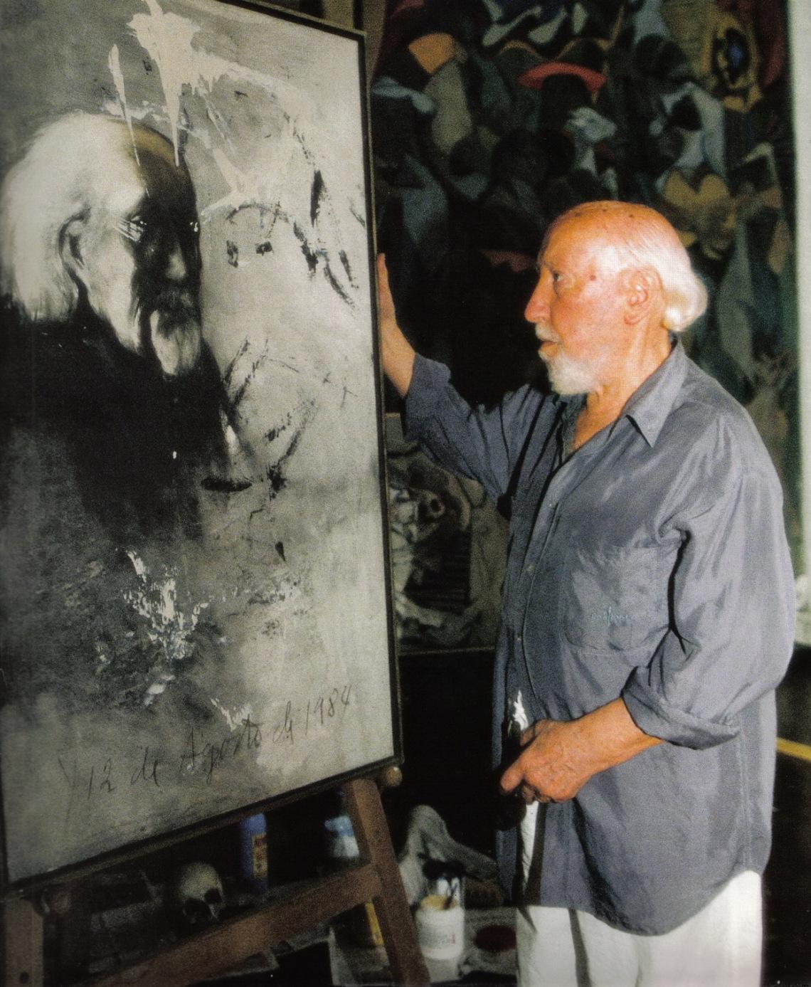 artista y autoretrato-1984