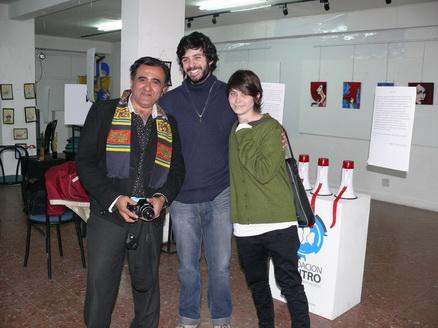 organizador y artistas
