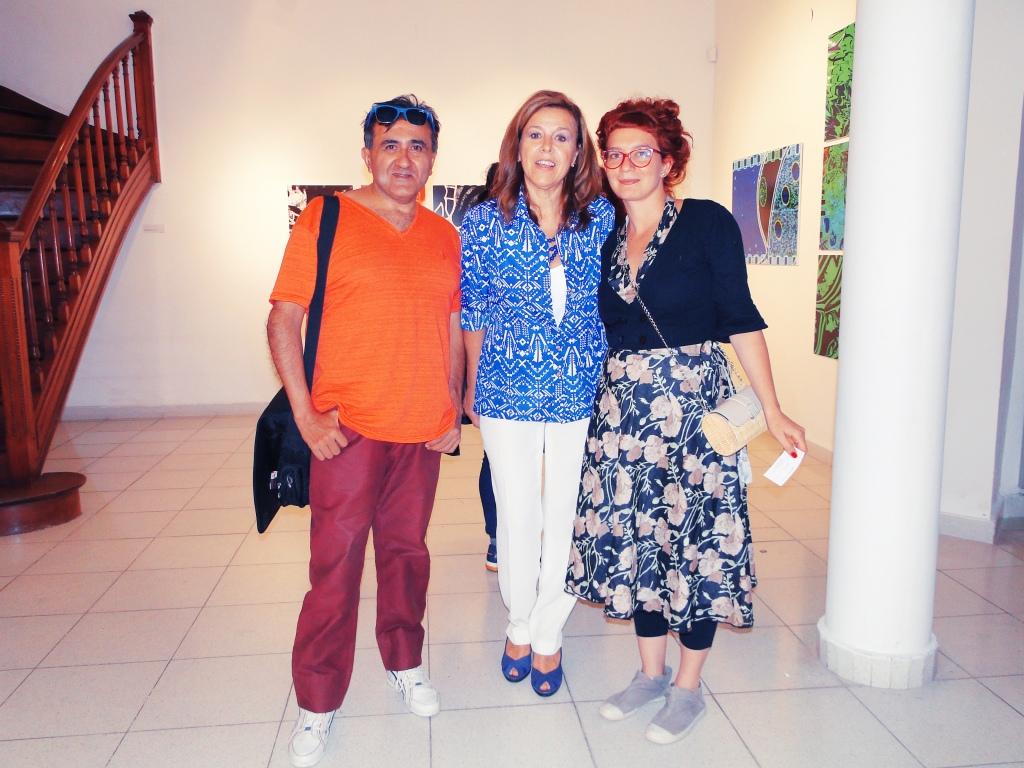 daniel otero, Stella ARber, Alejandra Mizrahi