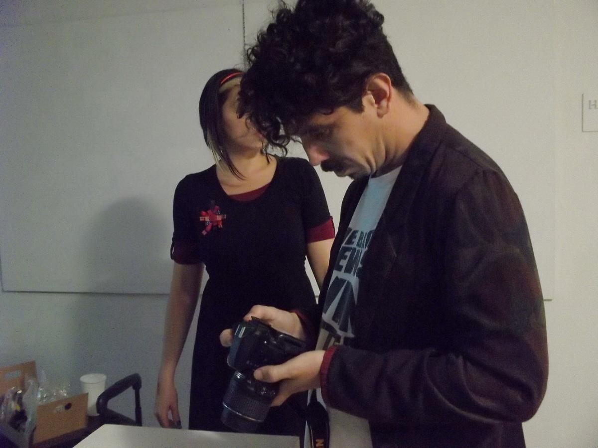 Gonzalo Gatto: clase magistral de fotografía, pasó por Candace.