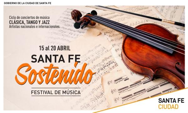 'Santa Fe Sostenido' llena de música la ciudad.