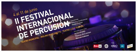 FESTIVAL INTERNACIONAL PERCUSION