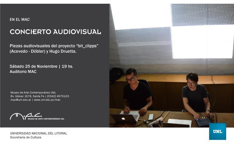 CONCIERTO AUDIOVISUAL EN EL MAC|JORGE ACEVEDO Y JUAN DÖBLER