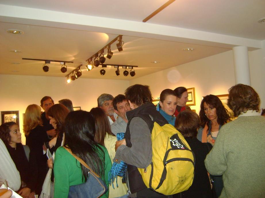 Muestra en la gallery de guillermo aleu
