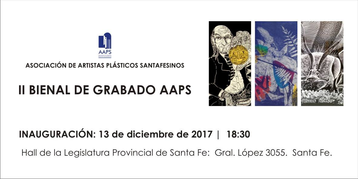 BIENAL DE GRABADO DE LA AAPS EN LA LEGISLATURA.