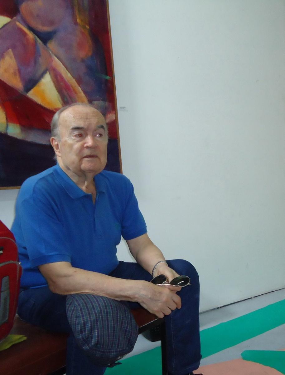 JORGE TAVERNA IRIGOYEN VISITO A DANIEL OTERO.