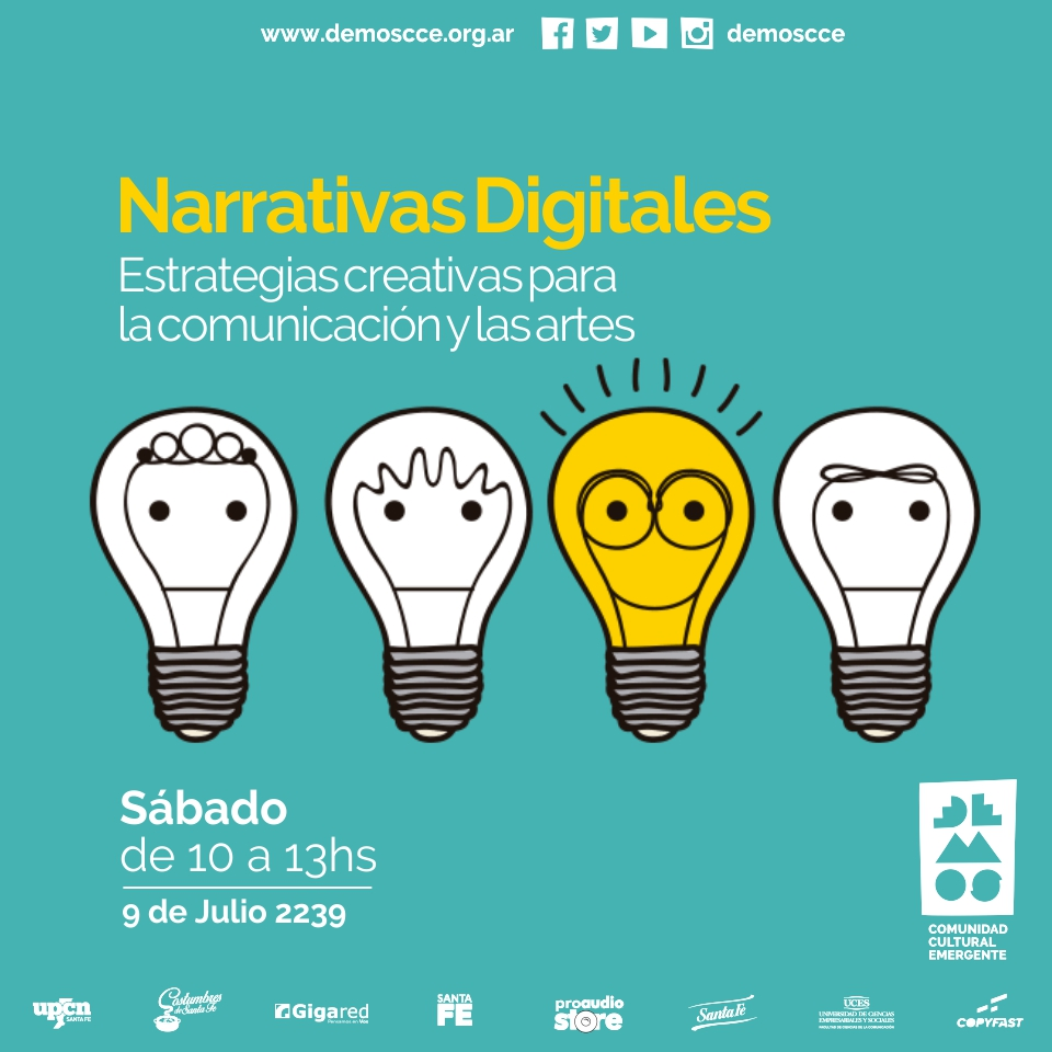 Narrativas digitales| Curso taller en Demos