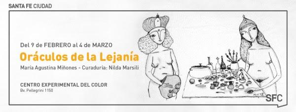 ORACULOS DE LA LEJANIA|MARIA AGUSTINA MIÑONES EN EL C.E.C.